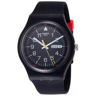 Swatch Herrenuhr Digital Quarz SUOB724