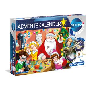 Clementoni 59080 Galileo Science Adventskalender 2018