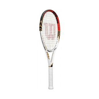 Wilson Erwachsene Schläger Federer Pro Racket Weiß
