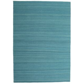 CarpetVista Kelim Loom dunkelblau Teppich 160x230 Moderner Teppich