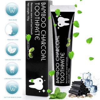 MayBeau Aktivkohle Zahnpasta Natürliche Zahnaufhellung Ohne