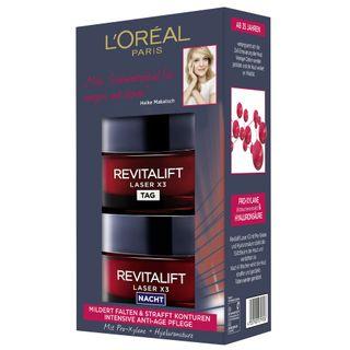 L'Oreal Paris Revitalift Laser X3 Tag und Nacht Gesichtspflege-Set