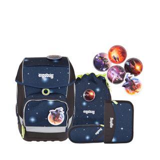 Ergobag Special Edition Galaxy Cubo Schulranzen-Set 5-tlg KoBärnikus