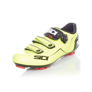 Sidi MTB Schuh Trace Gelb Fluorescent-Schwarz