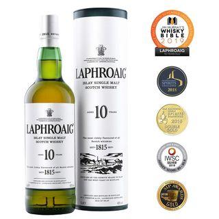 Laphroaig Islay Single Malt Scotch Whisky 10 Jahre