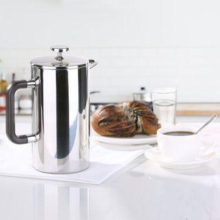 Ecooe 1L 18/10 Edelstahl French Press Kaffee Doppelwandig