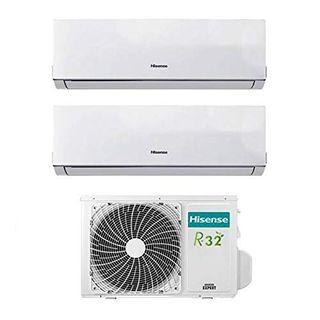 Klimaanlage Inverter Hisense New Comfort Dual Split 9000+12000