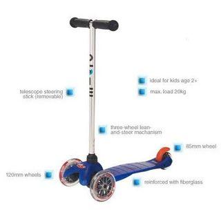 Micro Mini-Scooter  One Size blau