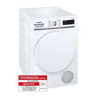 Siemens iQ700 WT44W5W0 iSensoric Premium Wärmepumpentrockner