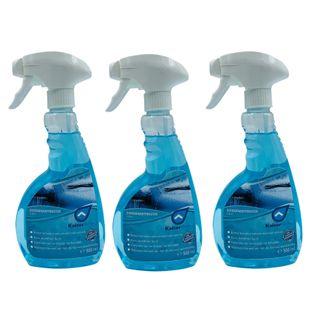 Scheibenentfroster 3 x 0,5L Scheibenenteiser Spray Verkratzen