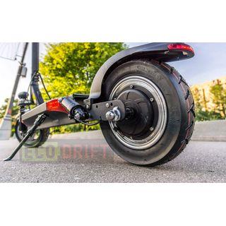 Wizzard Elektro City Scooter 2.5 Plus - 500 W Motor - 100 Km Reichweite - 40 Km/h - Alarmanlage (Schwarz)