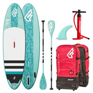 Fanatic Diamond Air Inflatable 10.4 SUP isup Stand up Paddle Board Komplett