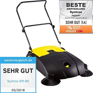 Syntrox Germany Kehrmaschine mit 2 Reinigern