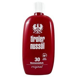 Tiroler Nussöl Sonnenmilch original wasserfest LSF 30