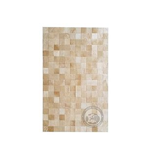 Sunshine Cowhides Teppich aus Kuhfell Patchwork
