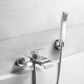 BONADE Duschset Regendusche Chrom Duscharmatur Wasserfall