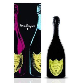 Dom Perignon 2002 Andy Warhol Champagne 75cl