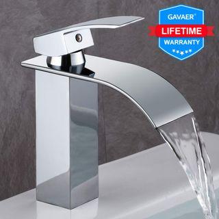 GAVAER Wasserfall Wasserhahn Bad