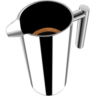 Utopia Kitchen Doppelwandig Edelstahl Kaffeebereiter