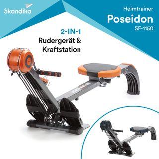 skandika Rudergerät Regatta Multi Gym Poseidon SF-1150