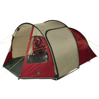 10T Zelt Mandiga Red 5 Mann Tunnelzelt wasserdichtes Campingzelt