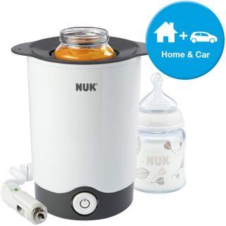 NUK Thermo Express PLUS Flaschenwärmer für zuhause & unterwegs