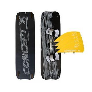 Concept X Kiteboard XLW Carbon 160 x 44 Leichtwindboard komplett
