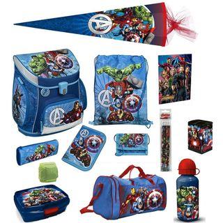 Familando Avengers Schulranzen-Set 16tlg Scooli Campus Fit