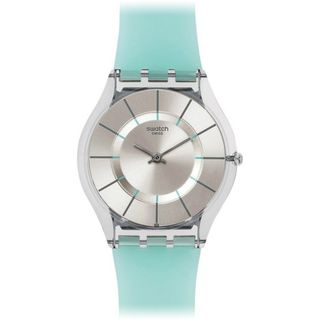 Swatch Damenuhr Datum Quarz SFK397