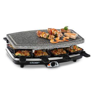 Cloer 6430 Raclette-Grill mit Naturstein