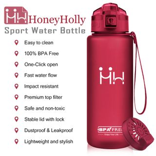 HoneyHolly Sport Trinkflasche 1L