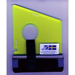 der Schwedische Eiskratzer Original YellowGreen 5 mm Plus Temp-Isolate
