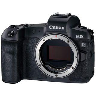 Canon EOS R Gehäuse mit Bajonettadapter EF-EOS R
