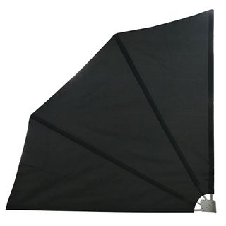 LZQ Seitenmarkise klappbar mit Wandhalterung Sichtschutz Balkon Windschutz Balkonsichtschutz Seitenmarkise
