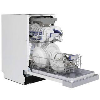 Oranier schmale Spülmaschine halb integrierbar 45 cm Geschirrspüler