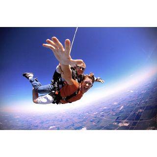 Geschenkgutschein: Fallschirm Tandemsprung in Most