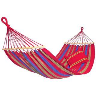 AMAZONAS Hängematte Aruba Cayenne wetterfest und UV-beständig 210 x 120cm