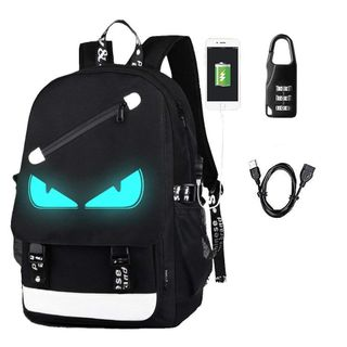 Aokay USB Schulrucksack Schulranzen Schultasche Sports Rucksack