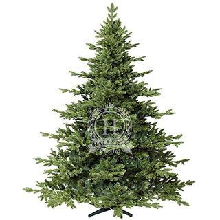 Original Hallerts Spritzguss Weihnachtsbaum Hamilton 210 cm Edeltanne
