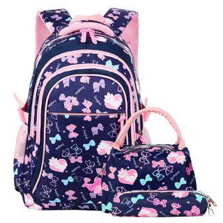 Vbiger Schulranzen Mädchen Schulrucksack Schultasche Rucksack