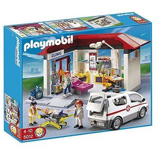 PLAYMOBIL 5012 Ambulanz mit Notarzt-Fahrzeug