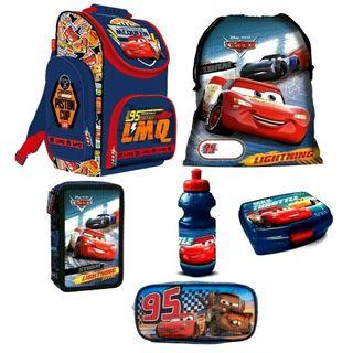 Disney Cars Schulranzen Jungen 1 Klasse Tornister Schulrucksack