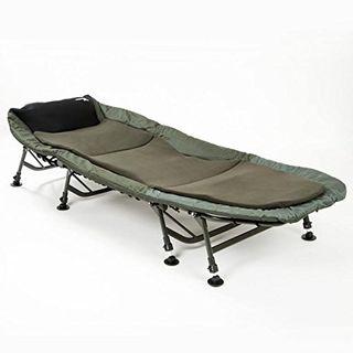 Mostal 8-Bein Luxus Karpfenliege Bedchair Anglerliege Liege
