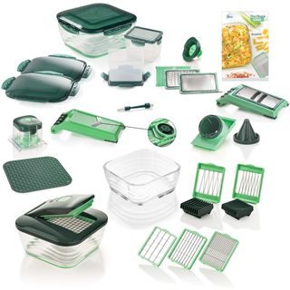 Genius Nicer Dicer Chef | Deluxe-Set | 34 Teile
