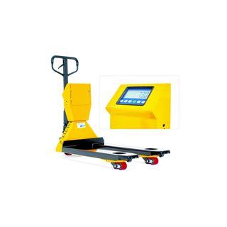 Bautec Hubwagen mit Waage und Drucker