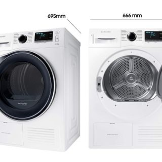 7 kg Kondenstrockner Samsung Wärmepumpentrockner Wäschetrockner Trockner EEK A+