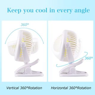 USB Ventilator Mini Clip Fan