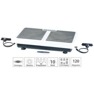 PEARL Vibrationsgerät: Extrabreite Vibrationsplatte WBV-199.OE