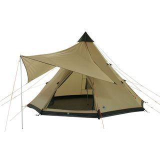 10T Campingzelt Shoshone 500 wasserdichtes XXL Tipi Zelt 5