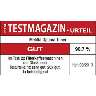 Melitta Optima Timer 100801 wh